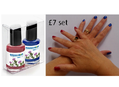 MU Scotland Nail Varnish Details